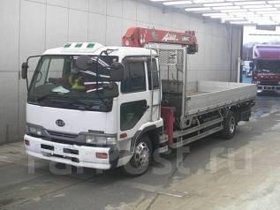 Nissan Condor. с манипулятором, 6 920 куб. см., 6 500 кг. Под заказ