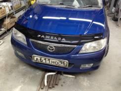Дефлектор капота. Mazda Familia