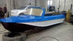Казанка-5М. Год: 1995 год, длина 4,60м., двигатель стационарный, 130,00л.с., бензин