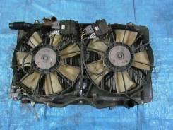 Радиатор охлаждения двигателя. Toyota Aristo Двигатель 2JZGTE