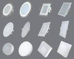 Светильники светодиодные для натяжных потолков. Низкие цены