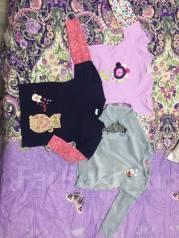 Продам 2 пакета вещей на девочку 4-7 лет. Рост: 104-110, 110-116, 116-122 см