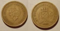 Антильские острова 1 гульден 1991 (иностранные монеты)
