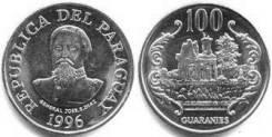 Парагвай 100 гуарани 2011 (иностранные монеты)