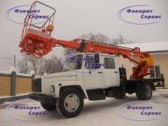 ГАЗ 3309. Новая автовышка ГАЗ-3309 ВС-18, сдвоенная кабина (Новая), 18 м.