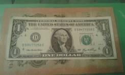 1доллар2006год. как новый.