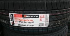 Hankook Ventus Prime 2 K115. Летние, 2016 год, без износа, 4 шт
