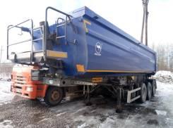 Wielton. Самосвальный полуприцеп Konisch NW3 2014, 45 000 кг.