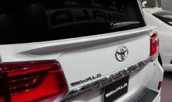 Спойлер на заднее стекло. Toyota Land Cruiser