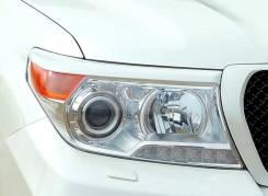 Накладка на фару. Toyota Land Cruiser, GRJ79K, J200, VDJ200, GRJ76K, URJ202W, URJ202 Двигатели: 1GRFE, 3URFE, 1VDFTV, 1URFE