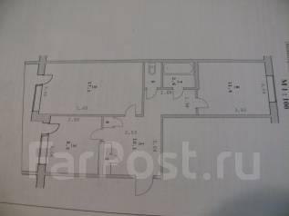 2-комнатная, улица 25 лет Арсеньеву 10. храм, комсомольский квартал, частное лицо, 52 кв.м.