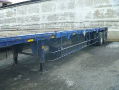 Korea Trailer Combination Container Chassis. Компания продает полуприцепы площадки, 30 700 кг.