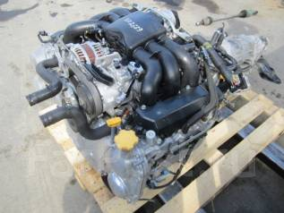 Двигатель в сборе. Subaru Outback Subaru Tribeca Двигатель EZ36