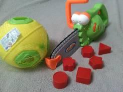 Музыкальная пила, реал звук, песня, фразы! +мяч-сортер! Новое