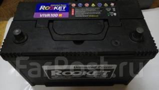Rocket. 100 А.ч., правое крепление, производство Корея