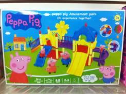 Игровая площадка со свинкой пеппой с рубля