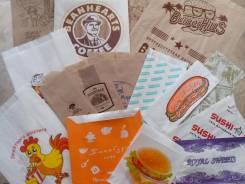 Бумажные пакеты для выпечки, фаст-фуда и др. пищевых товаров