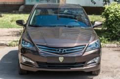 Накладка на фару. Hyundai Solaris, RB Двигатели: G4FC, G4FA