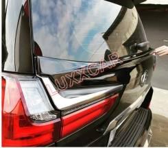 Спойлер на заднее стекло. Lexus LX450d, URJ200 Lexus LX570, SUV, URJ201, URJ201W