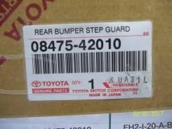 Накладка на бампер. Toyota RAV4, ACA36W, ACA31W, ACA33, ACA38, ACA30, ACA31, GSA38, GSA33 Двигатели: 2AZFE, 1AZFE