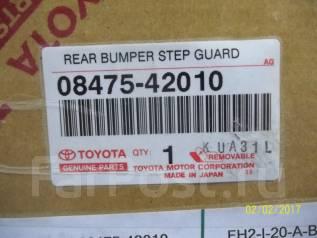 Накладка на бампер. Toyota RAV4, ACA30, ACA31, ACA31W, ACA33, ACA36W, ACA38, GSA33, GSA38 Двигатели: 1AZFE, 2AZFE
