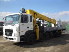 Hyundai HD320. Кму Soosan SCS1616 на , 12 000 куб. см., 18 000 кг., 30 м.