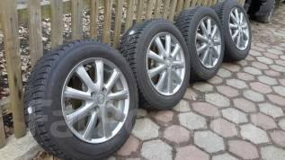 Продам комплект колёс Yokohama ICE Guard IG30. 6.0x15 4x100.00