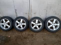 Honda. 5.5x16, 5x114.30, ET55, ЦО 64,1мм.