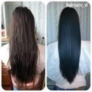 Кератиновое востановление, ботокс волос,