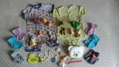 Лот одежды и игрушек. Рост: 68-74, 74-80 см