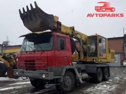 Tatra UDS-114. Экскаватор- планировщик вездеход с ковшом Tatra- 815 с установкой UDS-, 12 600 куб. см., 1,00куб. м.
