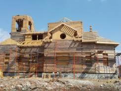 Строительство. Церковь из бруса. Каркасная модель патент. Тип объекта дом, коттедж, срок выполнения 6 месяцев и более