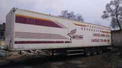 Fruehauf. Полуприцеп фургон 1990г.