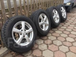 Продам комплект колёс Dunlop DSX. 6.0x15 5x114.30