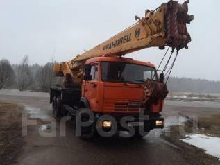 Камаз Ивановец. Автокран камаз ивановец 32т 2013г, 12 000 куб. см., 32 000 кг., 38 м.