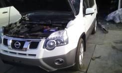 Лонжерон. Nissan X-Trail, NT31, TNT31 Двигатель QR25