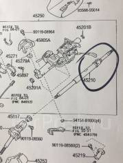 Колонка рулевая. Toyota Hilux Surf, VZN215W, KDN215W, VZN210W, RZN215, GRN215, RZN210, RZN215W, GRN215W, TRN210W, TRN215W, TRN210, RZN210W, TRN215, VZ...