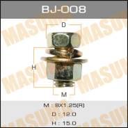 "Болт с гайкой BJ008 ""MASUMA"" М 8х15х1,25 уп.4шт."