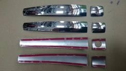 Накладка на ручки дверей. Toyota Land Cruiser Prado, GDJ150L, GRJ151, GRJ150, GDJ150W, GDJ151W, GRJ150L, GRJ150W, GRJ151W