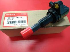 Катушка зажигания. Honda: Jazz, Fit Aria, Mobilio Spike, Mobilio, Airwave, Fit, City, City ZX Двигатели: L15A1, REFD15, REFD04, REFD05, REFD57, REFD69...