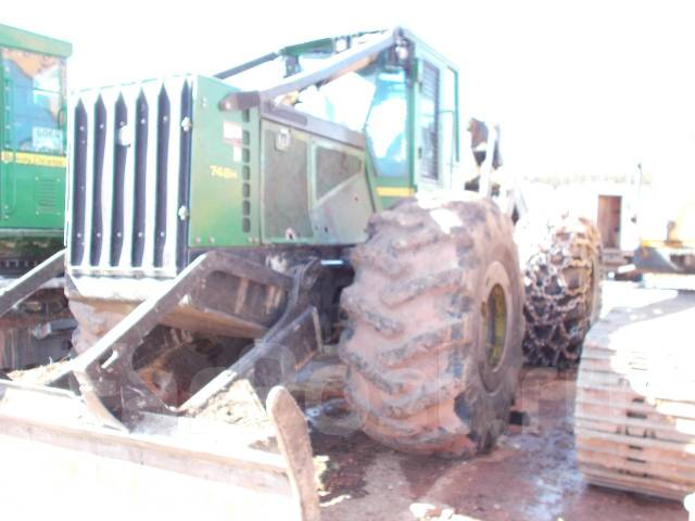 John Deere 748H. Трактор трелевочный JOHN DEER 748H, 15 750,00кг.