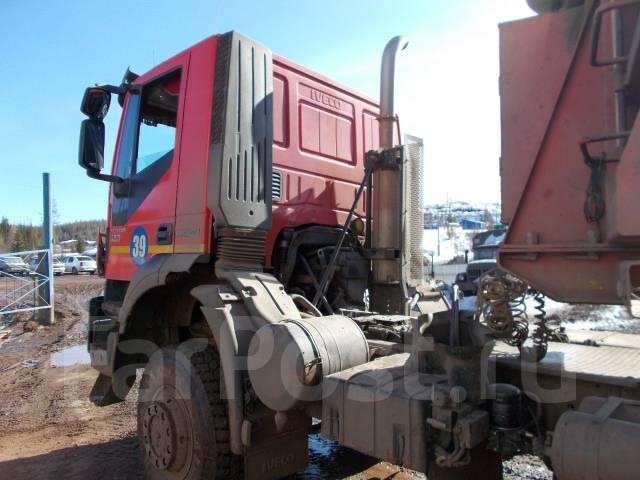 Iveco. Седельный тягач -AMT 633910 с прицепом САВ 99402-0000010-03В, 12 882 куб. см., 36 500 кг.