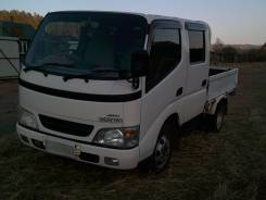 Toyota ToyoAce. Продам двухкабинный грузовик Toyota TOYO ACE 2004гв 4WD., 3 000 куб. см., до 3 т