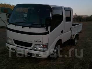 Toyota ToyoAce. Продам двухкабинный грузовик Toyota TOYO ACE 2004гв 4WD., 3 000 куб. см., 1 250 кг.