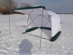 Палатка Куб 2,2х2,2х2,1 3-х слойная с откр. стенкой Уралзонт. Под заказ