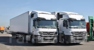 Mercedes-Benz Actros. Тягач 1841LS, 12 000 куб. см., 18 000 кг.
