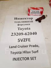 Инжектор. Toyota: Grand Hiace, 4Runner, Hilux Surf, Tacoma, Tundra, Hilux, Granvia, Land Cruiser Prado Двигатель 5VZFE