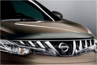 Дефлектор капота. Nissan Murano, Z51, Z51R