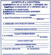 Нотариальное заверение документов, услуги апостиля.