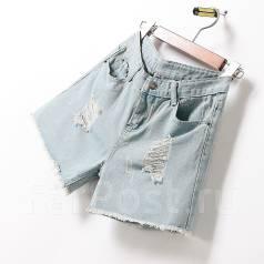 Шорты джинсовые. 38, 40, 42, 44, 40-44